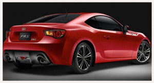 2013 Scion FR-S_rear