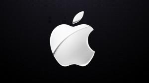 white-apple-logo