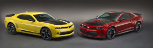 Chevrolet Performance Camaro V-6 and V-8 Concepts
