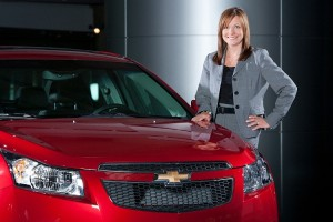 GM Senior VP Global Product Development Mary Barra