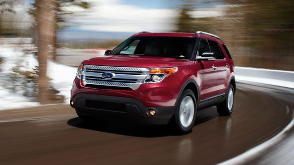 2014 Ford Explorer 4-Door LTD 4WD: Urban Style   The Car Diva