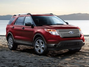 2014 Ford Explorer LTD 4WD 4-Door