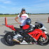 Valerie Thompson, BMW Racing Legend Attends Motorrad Days in Germany