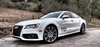 Hollywood Swingin' in The 2014 Audi A7 TDI quattro Tiptronic