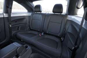 Spacious back seat