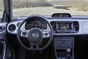 2014 VW Beetle TDI interior