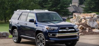 Hanging Out In The 2015 Toyota 4 Runner 4X4 Limited V6