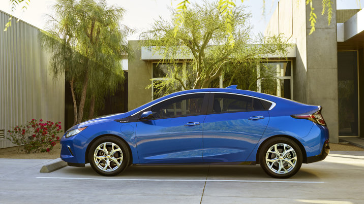 Chevy Volt A Hybrid Of Fun And Social Responsibility