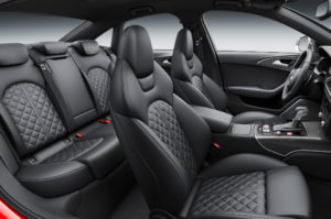2016 Audi S6 Quilted Leather Seats