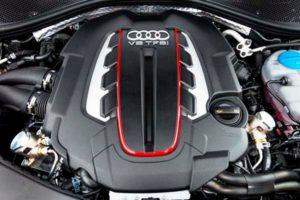 2016 Audi S6 V8 Engine