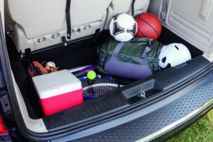 2016 Dodge Grand Caravan Storage