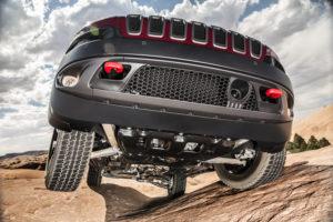 2016 Jeep® Cherokee Trailhawk Skid Plates